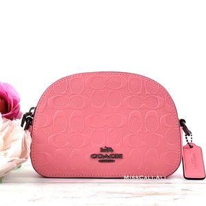 NWT COACH Mini Serena Pink Lemonade Crossbody Bag